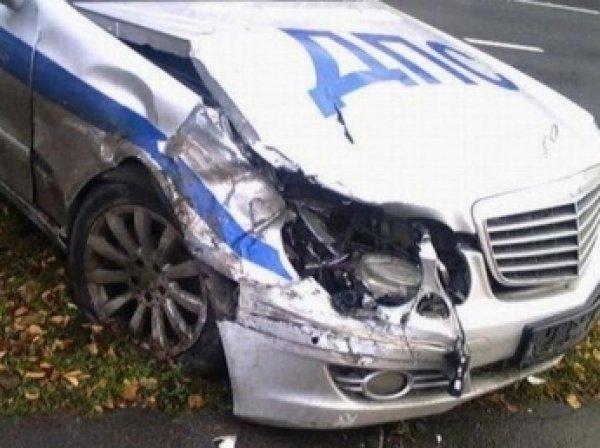 В Ростове-на-Дону нетрезвый водитель сбил патруль ДПС