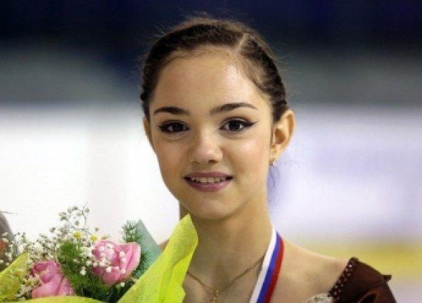15-летняя фигуристка Елена Медведева выиграла первый этап Гран-при в США