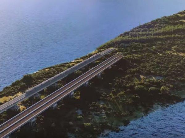 Мост в Крым: в Сети появился ролик нового моста (видео)