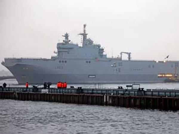 Франция допустила продажу России новых кораблей