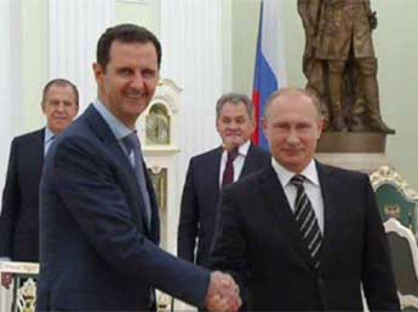 Путин встретился в Кремле с Башаром Асадом