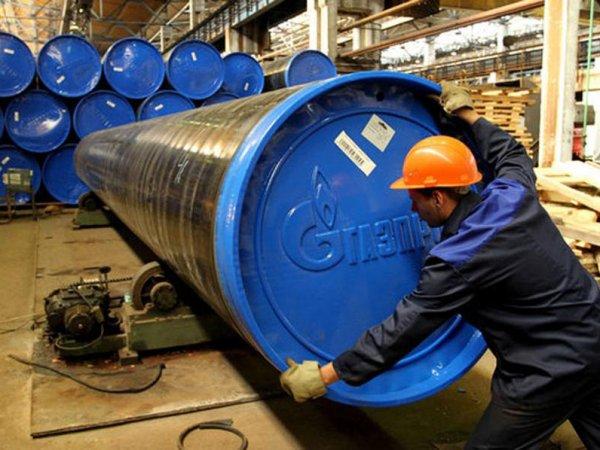 """СМИ сообщили о потере """"Газпромом"""" труб на 18 млрд рублей"""