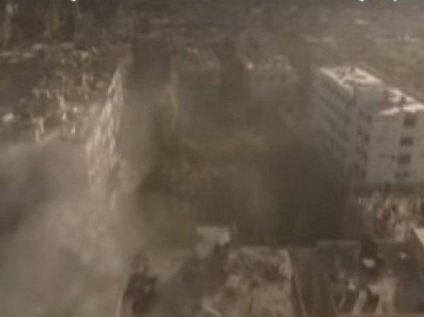 В Сети опубликовано видео наступления сирийской армии на позиции ИГИЛ