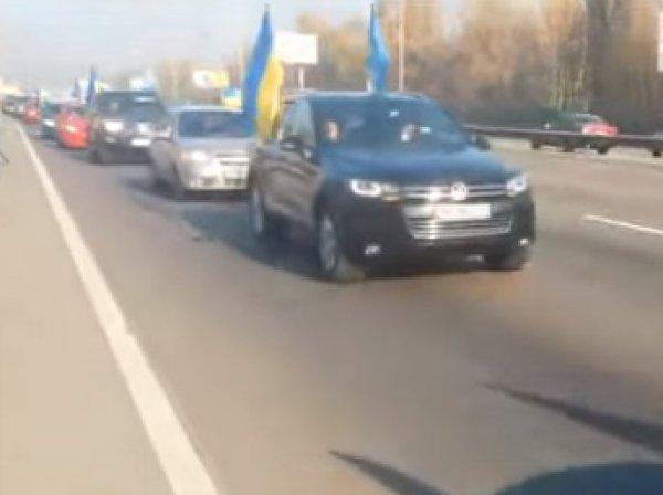 """""""Автомайдан"""" взял дом Порошенко в блокаду"""