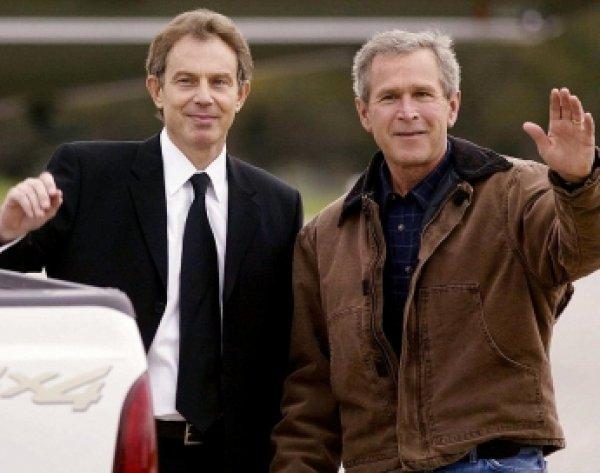 ИноСМИ: Тони Блэр и Джордж Буш-младший за год до вторжения в Ирак договорились о начале военных действий