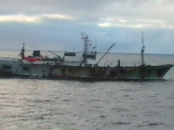 "Капитан судна ""Камчатка"" жестко подавил бунт матросов"