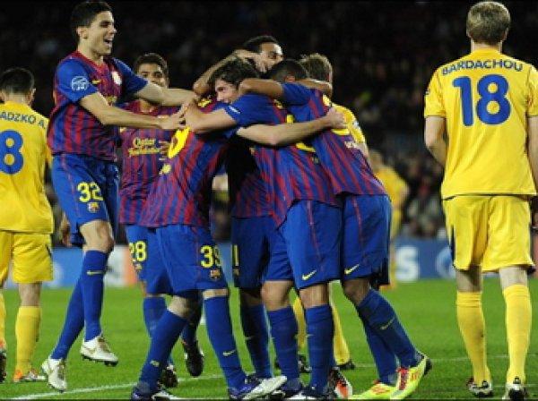 «БАТЭ» - «Барселона», счет 0:2:  обзор матча, видео голов (ВИДЕО)