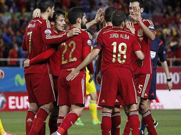 Результаты футбольных матчей Евро-2016: Испания победила Украину в квалификации ЧЕ-2016 (видео)