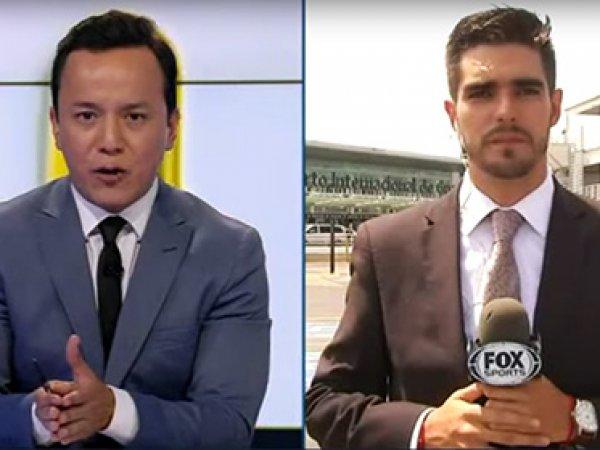 Репортера Fox в прямом эфире сбила машина