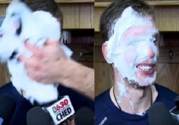Звезда НХЛ Кузнецов получил от Овечкина кремом в лицо