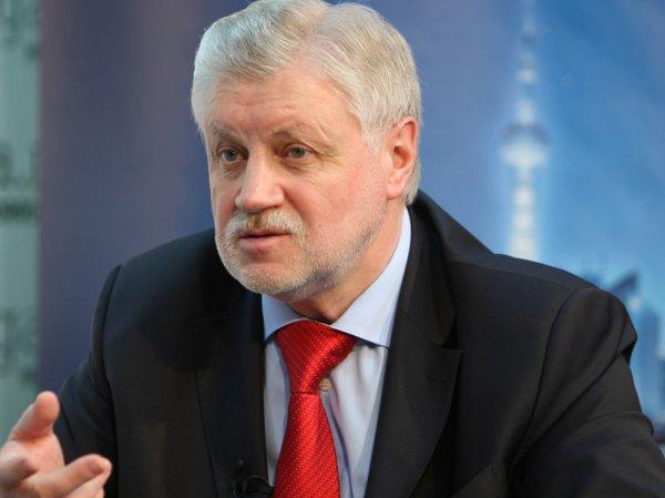 Сергей Миронов рассказал, как ограничить зарубежный туризм