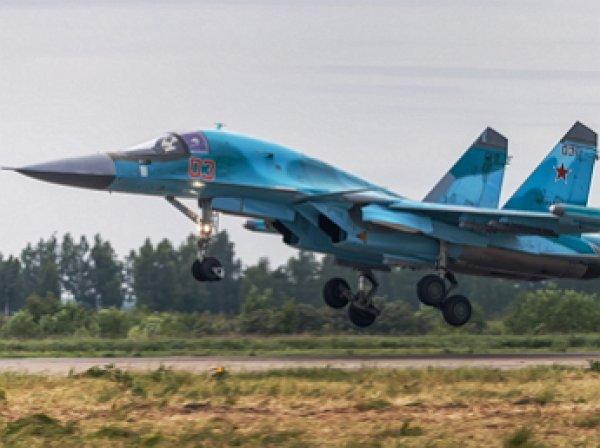 Российские самолеты Су-34 в Сирии оснастили ракетами «воздух-воздух»
