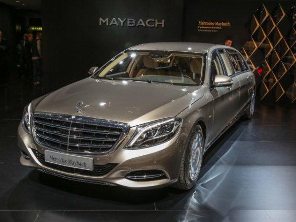 У московского бизнесмена угнали Mercedes-Maybach стоимостью 8 млн рублей