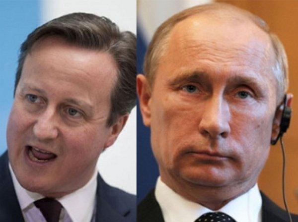 Путин и Кэмерон обсудили по телефону крушение А321 в Египте