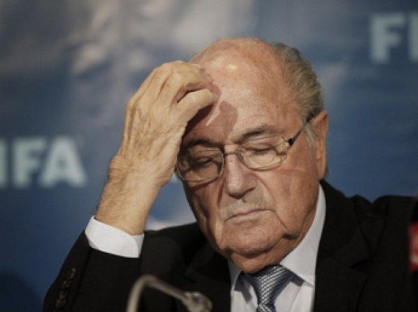 Президент ФИФА Йозеф Блаттер попал в больницу с нервным срывом
