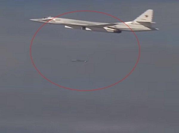 Минобороны опубликовало видео массированного авиаудара ВКС России по ИГИЛ в Сирии