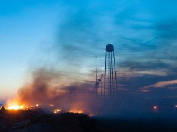 В NASA показали фотографии взрыва ракеты Antares