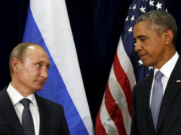 Путин и Обама в Париже провели встречу за закрытыми дверями