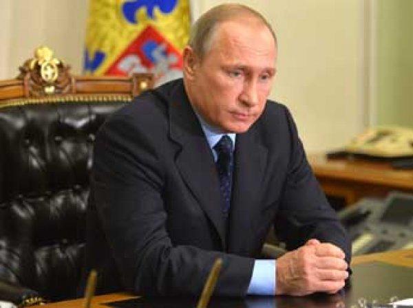 Путин подписал указ о запрете авиаперелетов в Египет