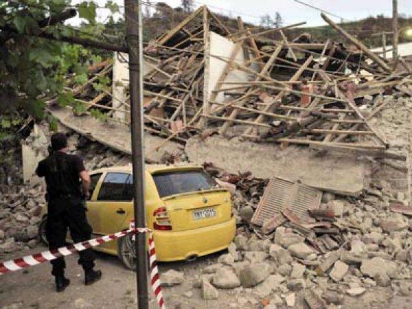 Землетрясение в Греции 17 ноября 2015: есть жертвы