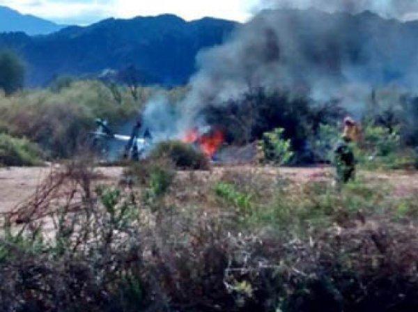 Украинский вертолет разбился в Словакии: 6 человек погибли
