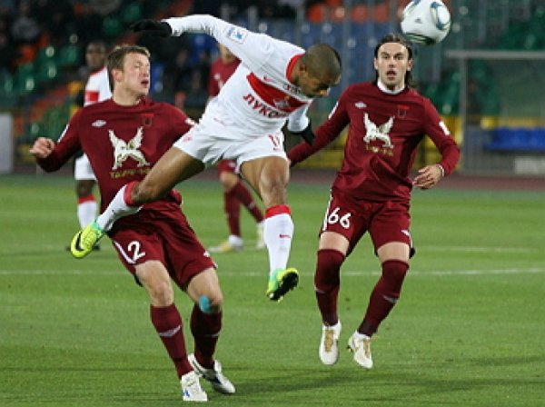 «Рубин» - «Спартак», счет 2:2:  обзор матча, видео голов (ВИДЕО)