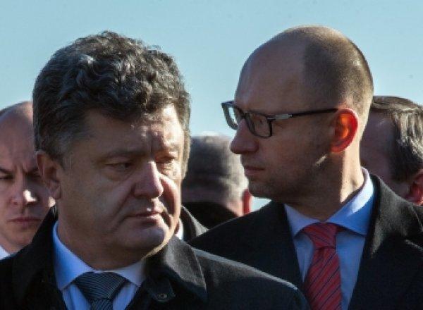 Яценюк и Порошенко отреагировали на авиакатастрофу в Египте
