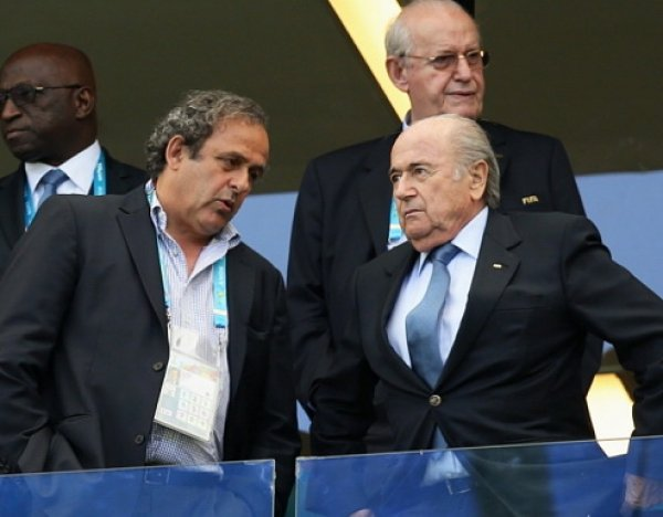 СМИ: Блаттер и Платини могут быть отстранены от футбола на 6 лет