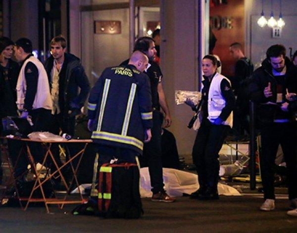 Стрельба и взрывы в Париже 14.11.2015: не менее 60 погибших (видео)