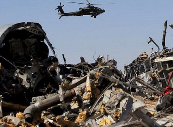 Причина крушения самолета в Египте 31.10.2015 установлена - египетские СМИ