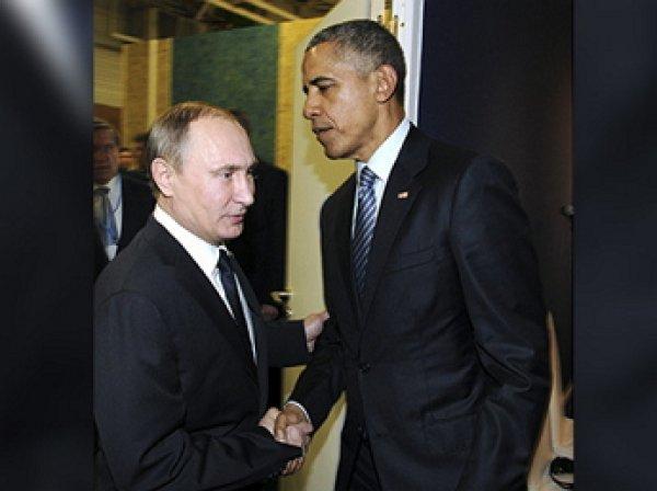 В Кремле и Белом доме рассказали, о чем разговаривали Путин и Обама