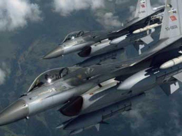 Турецкие боевые самолеты прекратили полеты над Сирией