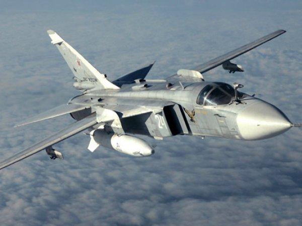 Турция сбила российский самолет Су-24 над территорией Сирии (видео)