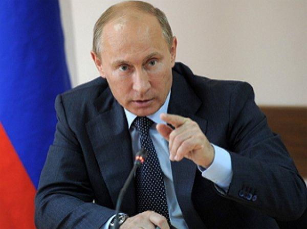 Путин поручил Силуанову подать в суд на Украину
