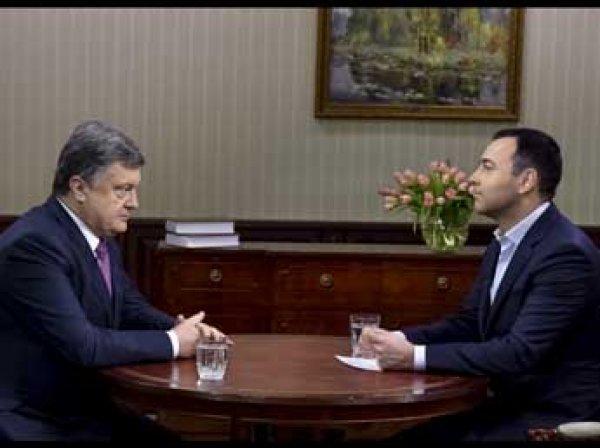 Порошенко предложил вернуть Крым в обмен на безвизовый режим с ЕС для Донбасса