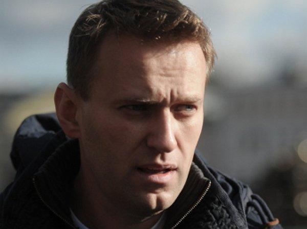 В Москве задержали оппозиционера Алексея Навального