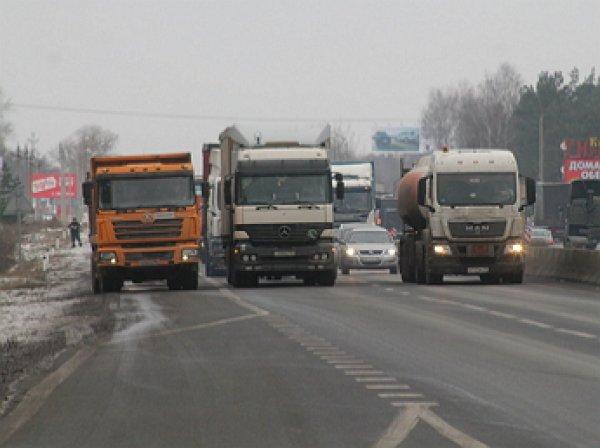 Госдума в 90 раз снизила сборы для дальнобойщиков