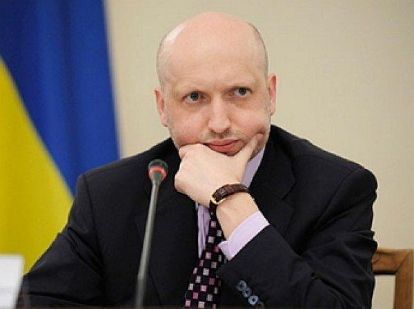 Турчинов выступил за введения визового режима с Россией