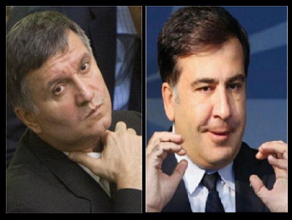 Между Аваковым и Саакашвили произошла потасовка