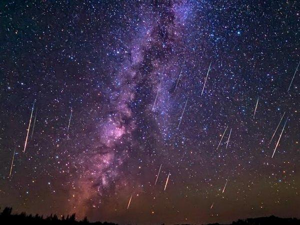 Звездный дождь Гемениды 2015: пользователи соцсетей делятся первыми фото и видео метеоритного потока