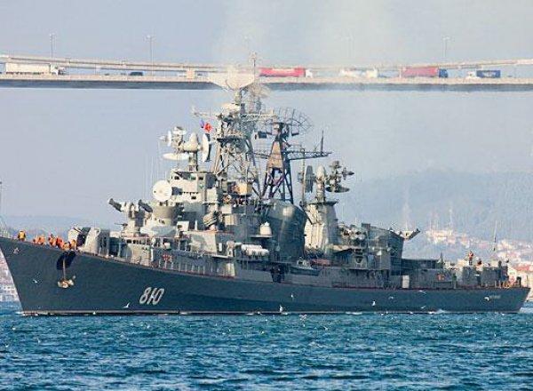 """В Эгейском море корабль """"Сметливый"""" открыл огонь в сторону турецкого сейнера"""