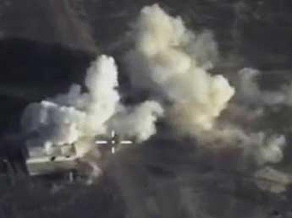 Российский бомбардировщик уничтожил полевых командиров ИГИЛ в Сирии