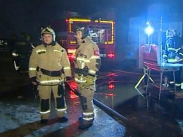 Пожар в Москве 17 декабря 2015: в центре столицы загорелся Дом культуры МВД (видео)