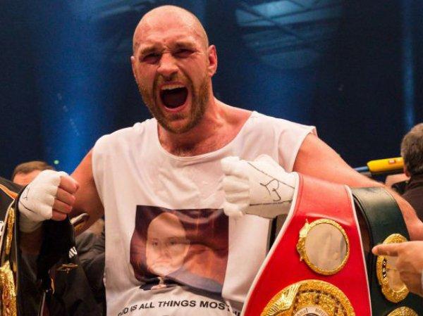 Тайсона Фьюри лишили отобранного у Кличко титула чемпиона мира по версии IBF