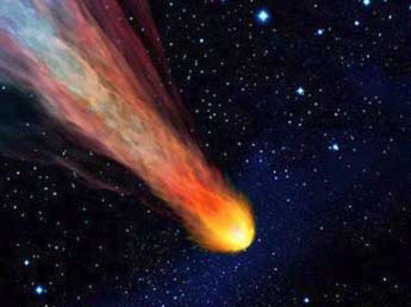 НАСА опубликовало фото падающего над Байконуром метеорита