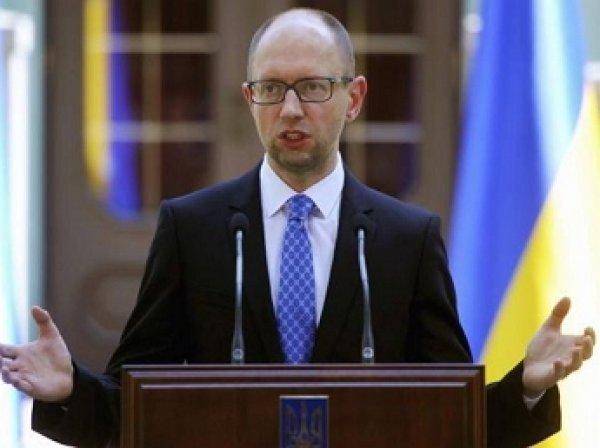 Яценюк заявил о готовности обеспечить безопасность Турции