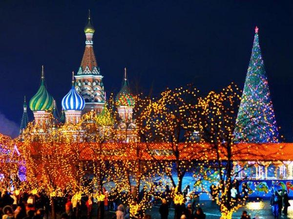 Новый год в Москве 2016: мероприятия