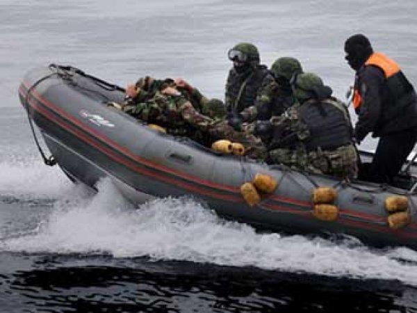 Российские пограничники в Крыму задержали судно под флагом Камбоджи