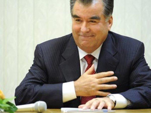 Парламент Таджикистана намерен сделать главу государства президентом пожизненно
