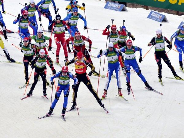Биатлон, масс-старт, женщины, 10 января Кубок мира 2016: трансляция онлайн пройдет на ТВ (ВИДЕО)